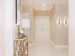 Студия дизайна ROMANIUK DESIGN Salones de estilo clásico