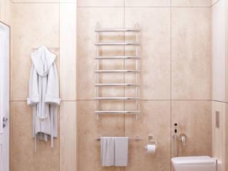 Студия дизайна ROMANIUK DESIGN ห้องน้ำ