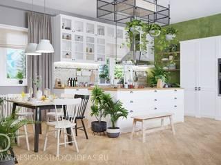 Студия дизайна ROMANIUK DESIGN ห้องครัว