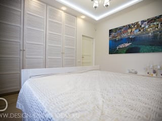 Студия дизайна ROMANIUK DESIGN Dormitorios de estilo mediterráneo