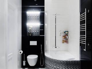 Студия дизайна ROMANIUK DESIGN Baños de estilo escandinavo