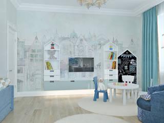 Студия дизайна ROMANIUK DESIGN Dormitorios infantiles de estilo minimalista
