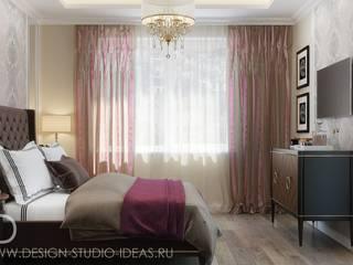 Студия дизайна ROMANIUK DESIGN ห้องนอน