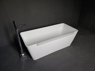 SURFACED 창조 BathroomBathtubs & showers Marble White