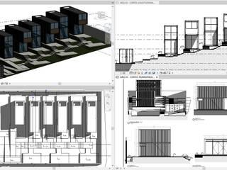 ConstruTech & Technology BIM Rumah pasif Metal Black