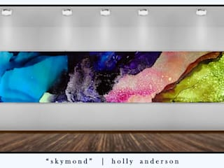 Holly Anderson Fine Art ArtworkPictures & paintings Aluminium/Seng Multicolored