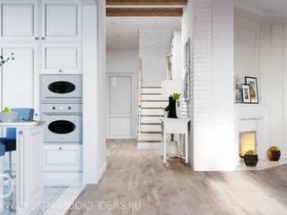 Студия дизайна ROMANIUK DESIGN Dapur Gaya Skandinavia
