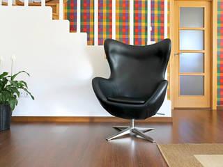 """""""Miscelánea"""" Viviendas Unifamiliares & Apartamentos Quorum, Arquitectura de Interiores & Comunicación Comedores de estilo moderno Hierro/Acero Multicolor"""