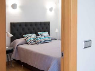 Dormitorio. - Bedroom Ambar Decoraciones Dormitorios pequeños Gris