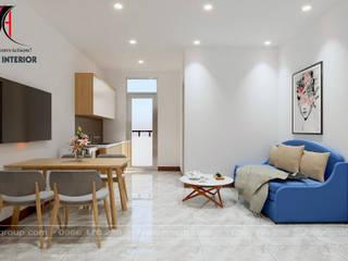 Nội Thất An Lộc Minimalistische Wohnzimmer