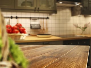 press profile homify KitchenBench tops