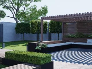 Студия дизайна ROMANIUK DESIGN Rumah Minimalis