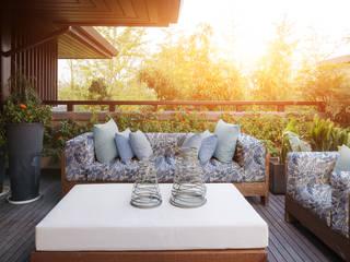 Outdoor Ideen SILKs Wohnen in Stoff GartenAccessoires und Dekoration