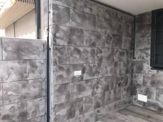 Euromar Pavimentos Dinding & Lantai Gaya Klasik Beton Grey