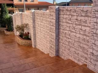 Euromar Pavimentos Dinding & Lantai Gaya Klasik Beton White