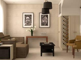 Julia Pinheiro Interiores Living room