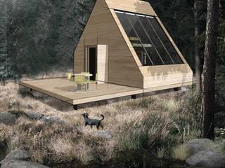 Case in legno Luisa Olgiati