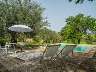 Relax in mezzo agli ulivi Luisa Olgiati Giardino rurale