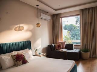 Shriya Magotra Architects ห้องนอน