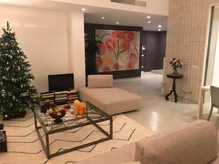 Cambio di look_Appartamento a Roma Luisa Olgiati Soggiorno moderno