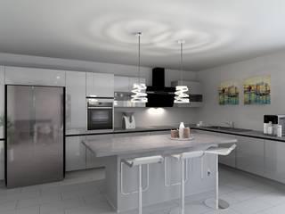 Maria & Dias Lda Cocinas de estilo moderno