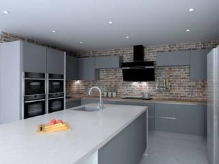 Maria & Dias Lda Modern style kitchen
