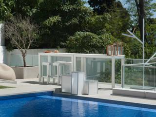 Exteriores Atelier Renata Santos Machado Piscinas de jardim