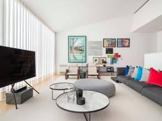 Salas de Estar e Jantar Atelier Renata Santos Machado Salas de estar modernas