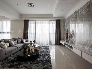SING萬寶隆空間設計 Livings de estilo moderno
