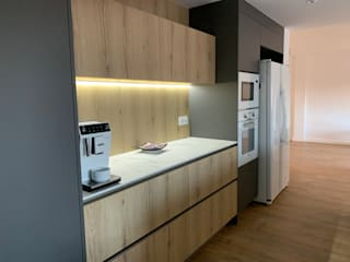 Studeco World SL Built-in kitchens Wood effect
