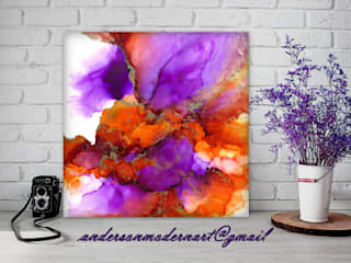 Holly Anderson Fine Art ArtPhotos et illustrations Violet