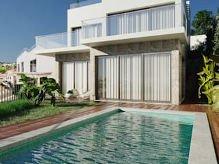 Вилла с 3-мя спальнями и с террасой на крыше на Мадере Amber Star Real Estate