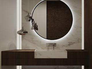 Luxart studio Moderne Badezimmer