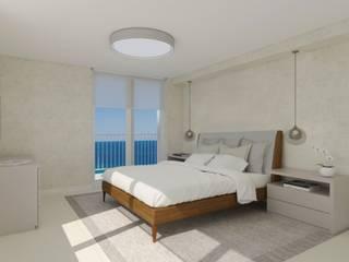 Luxart studio Minimalistische Schlafzimmer