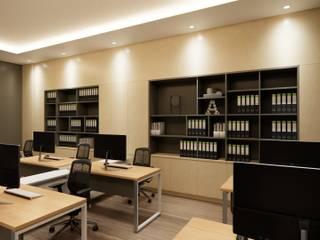 Wangpack office Modernize Design + Turnkey ห้องทำงาน/อ่านหนังสือ ไม้ Brown