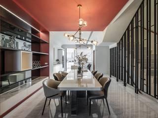 綵橘 仝育室內裝修設計有限公司 餐廳