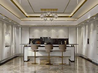 Brummel Built-in kitchens Wood White