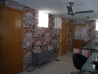 DECORACIÓN: Revitalizar un despacho con papel Sara Hueso Fibla