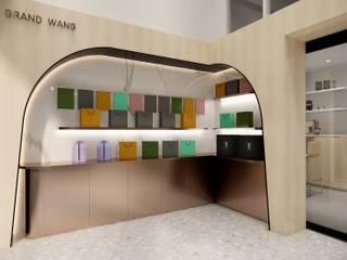 Taeyoung office Modernize Design + Turnkey บ้านขนาดเล็ก ไม้ Multicolored