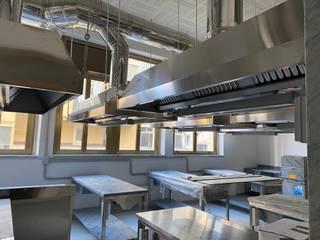 Studio Ing. Marco Pellegrini Dapur built in Besi/Baja Grey