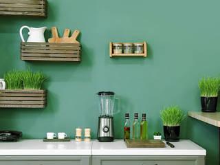 SAN MARCO MESTRE- MAT MOTION EGG SHELL SAN MARCO MESTRE Cucina attrezzata Cemento Verde