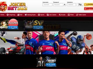 Link SBOBET Terpercaya di Indonesia - Jokerbet303 SBOBET | LIVE CASINO | SLOT | DINGDONG - JOKERBET303