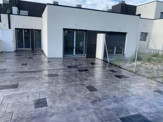 Euromar Pavimentos Ruang Studi/Kantor Klasik Beton Grey