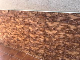 Euromar Pavimentos Dinding & Lantai Gaya Klasik Beton Brown