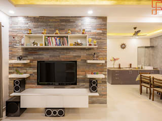 Project- Valparai FINELOOK INTERIOR Asian style living room