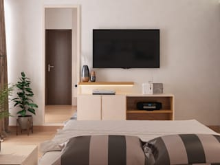 Lakkad Works Dormitorios pequeños
