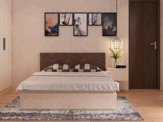 Lakkad Works Dormitorios de estilo mediterráneo