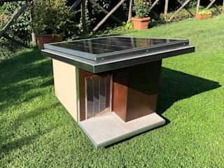 Pet House Design® Garden Accessories & decoration Wood Brown