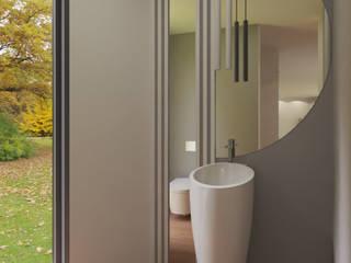 Angelourenzzo - Interior Design Minimalist style bathroom