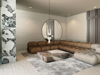 iconic design Living room Marble Beige